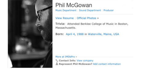 Where are they now? Phil McGowan- Class of 2006